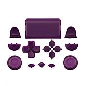 PS4コントローラオレンジ/パープル/ピンクのためのケース部分の皮膚カバー