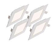 パネルライト 15 LEDの SMD 2835 調光可能 装飾用 温白色 クールホワイト ナチュラルホワイト 220~260lm 2800~6500K 交流220から240 AC 110-130V
