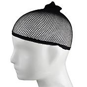 redecilla de la red de rejilla elástica estirable de la peluca del casquillo del pelo elástico 1pc tejido en malla con malla para pelucas