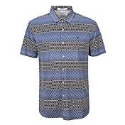 セブンBrand® 男性 シャツカラー ショート Tシャツ ブラウン-702T511353