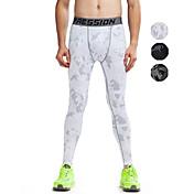 Vansydical® Hombre / Mujer Camiseta interior / Pantalones ajustados de running / Leggings de gimnasio - Blanco, Gris, Verde Deportes