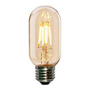 1pc 4w e27 t45エジソンスタイルアンティークのフィラメント管状電球(220-240v)