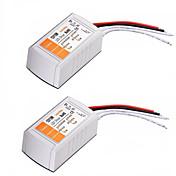 2pcsac 110-240v a dc 12v 18w convertidor de voltaje LED de alta calidad