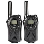T-668 PMR walkie talkie para niños mini bolsillo de mano PMR transceptor 5 kilometros gama 8channels buenos juguetes de juego (1 par)