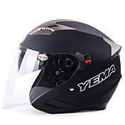 Medio Casco Transpirable / Antiniebla ABS Según la imagen 33*26*26 Los cascos de motocicleta
