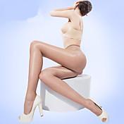 Mujer Medio Un Color Legging, Piel