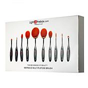 Lightinthebox® 10 ブラシセット 人工毛 プロフェッショナル / フルカップ Plastic 顔 / 目 / リップ その他