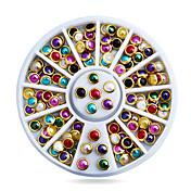 1pcs ネイルアートデコレーション ラインストーンパール メイクアップ化粧品 ネイルアートデザイン