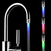 ledede ændring vandhane temperaturkontrol farve tre farver vandhane (abs galvanisering)