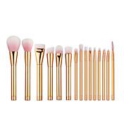 15pcs Pinceles de maquillaje Profesional Sistemas de cepillo / Cepillo para Colorete / Pincel para Sombra de Ojos Pincel de Nylon