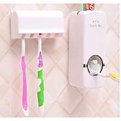 mundskyl vask gurgle trop / kreative automatisk tandpasta tandbørste rack med fem