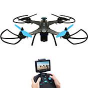 RC Dron JJRC X1G RTF 4 Canales 6 Ejes 5.8G Con Cámara HD 2.0MP 720P Quadccótero de radiocontrol  FPV / Luces LED / A Prueba De Fallos