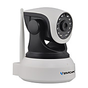 vstarcam®1.0 mp ipカメラ、irカット128日間の夜間モーション検知デュアルストリームリモートアクセスプラグアンドプレイ