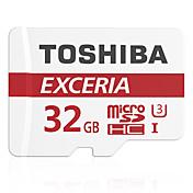 Toshiba 32GB Tarjeta TF tarjeta Micro SD tarjeta de memoria UHS-I U3 Clase 10 EXCERIA