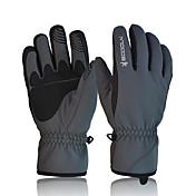 Guantes de esquí Hombre Mujer Dedos completos Mantiene abrigado Impermeable Secado rápido Resistente al Viento 100% Poliéster Esquí