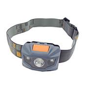 ヘッドランプ ヘッドライト LED 100 lm 3 モード LED ズーム可能 滑り止めグリップ 小型 ハイパワー 変色 キャンプ/ハイキング/ケイビング 日常使用 サイクリング 釣り 旅行 ワーキング 登山 屋外 ホワイト グレー