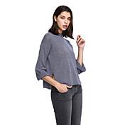 Mujer Tallas Grandes Pullover - Un Color