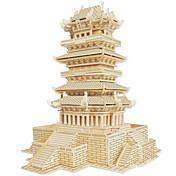 Puzzles de Madera Edificio Famoso Arquitectura China Casa Nivel profesional De madera 1pcs Niños Chico Regalo