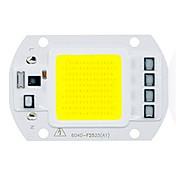 50w brillante utral entrada de mazorca de viruta llevada 110v 220v inteligente IC para bricolaje llevó la luz de inundación (1 pieza)