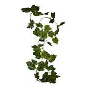 人工ツタのブドウは、家の装飾のためのブドウの葉の花の植物を葉 - 8.5フィート
