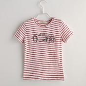 男の子 カジュアル/普段着 水玉 コットン Tシャツ 夏 半袖