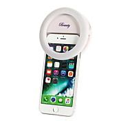 iphone用のLEDライト調光可能な充電式を満たし、すべてのスマートフォン、ポータブル常夜灯懐中電灯の1pcs