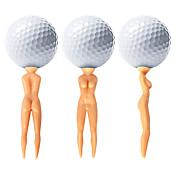 ゴルフティー ゴルフアクセサリー 防水 耐久 再利用可 携帯式 のために ゴルフ - 50枚