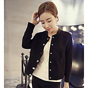 i nueva camisa de cuello chaqueta de ante delgada chaqueta corta el párrafo uniforme de béisbol delgada capa femenina