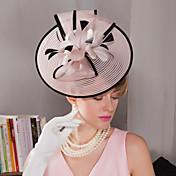 羽毛 フラワー - 魅力的な人 帽子 1個 結婚式 パーティー アウトドア かぶと
