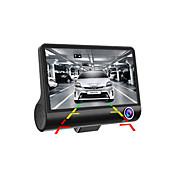 HDデュアルレンズ車のdvr 1080車のカメラレコーダーのダッシュカムGセンサービデオレジカメラのWDRナイトビジョン自動車のDVRのタコグラフ