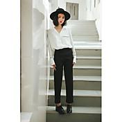 韓国語バージョンは、新しい春のスーツのズボンの女性のカジュアルパンツをされた署名細いウエストハーレムパンツの足9点