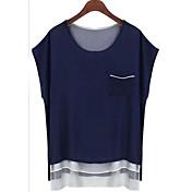 ヨーロッパとアメリカのシフォンシャツeabyレジャーワイルドシフォンシャツで2015年春モデルaliexpress爆発モデル