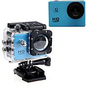 Cámara acción / Cámara deporte 16MP 640 x 480 1920 x 1080 1280 x 720 LED Impermeable USB G-Sensor Gran Angular Todo en Uno Ajustable 60fps
