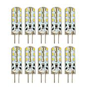 2W G4 LED2本ピン電球 T 24 LEDの SMD 3014 温白色 クールホワイト 100-200lm 2800-3200/6000-6500K 交流220から240 DC 12V