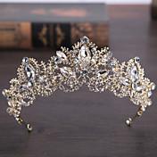 rhinestone alloy tiaras headpiece elegante estilo femenino clásico