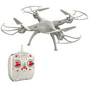 RC Dron Z1+ 4 Canales 6 Ejes 2.4G - Quadccótero de radiocontrol  Quadcopter RC Mando A Distancia 1 Manual 1 Cable de Carga USB Hélices 1