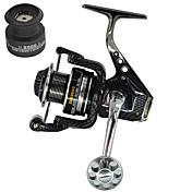 Carretes para pesca spinning 5.5:1 13 Rodamientos de bolas IntercambiablePesca de Mar Pesca de baitcasting Pesca al spinning Pesca