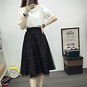 レディース 夏 Tシャツ(21) スカート スーツ ストライプ