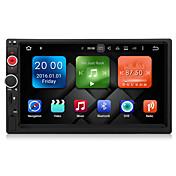 アンドロイド6.0車のマルチメディアプレーヤーシステム7インチ2inクアッドコアなしDVD 2GBのRAM WIFI 3gのex  - テレビdab dy7098-mg内蔵