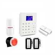 2.4g sistema de alarma del gsm del wifi gprs del wifi de la seguridad casera del androide del androide / ios del sistema de alarma del
