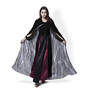 Bruja Abrigo Disfrace de Cosplay Capa Escoba de Bruja Accesorios de Halloween Ropa de Fiesta Baile de Máscaras No Especificado Unisex