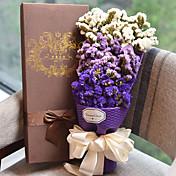 Boda San Valentín Favores y regalos de la fiesta Cajas de Regalos Flores Artificiales Tema Floral Cumpleaños Flores/Botánica