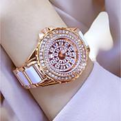 Mujer Simulado Diamante Reloj Reloj de Cristal Pavé Reloj de Vestir Reloj de Moda Reloj de Pulsera Reloj Pulsera Reloj creativo único