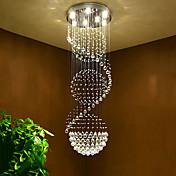 7-luz Cristal Lámparas Araña Luz Downlight - Cristal, Bombilla incluida, 110-120V / 220-240V Bombilla incluida / GU10 / 10-15㎡