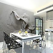 3D グラフィック ホームのための壁紙 ウォールカバーリング , キャンバス 材料 接着剤必要 壁画 , ルームWallcovering