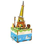 Puzzles de Madera Juguetes Torre Edificio Famoso Dibujos Manualidades Niños Piezas