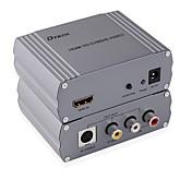 HDMI 1.4 コンバーター, HDMI 1.4 to 3RCA S-Video コンバーター メス―メス