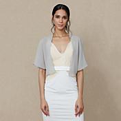la fiesta de bodas de la gasa / el abrigo de las mujeres de la tarde encoge de un estilo elegante