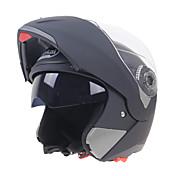 オープンフェイス デュアルスクリーン 耐衝撃性 傷つきにくい アンチダスト オートバイのヘルメット
