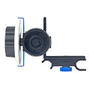 Yelangu seguir foco f0 con correa de anillo de engranaje ajustable para cámaras dslr